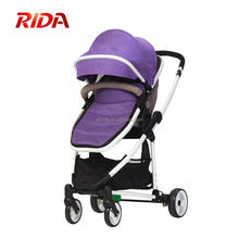 Luxury Baby Stroller 3 In 1 Pushchair Travel System Pram Foldable