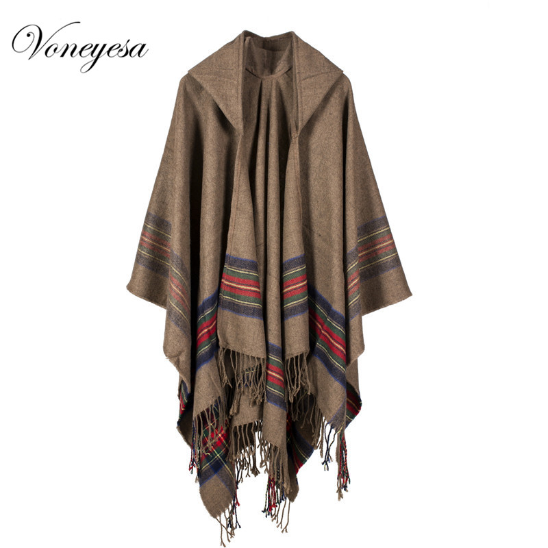New <strong>Fashion</strong> Hooded Warm Winter Shawl Oversize Women winter Warm Cashmere shawl