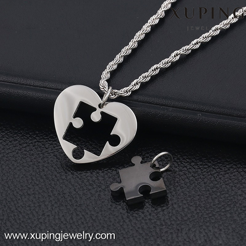 pendant-00010-xuping fashion wholesale stainless steel jewelry pendants couples