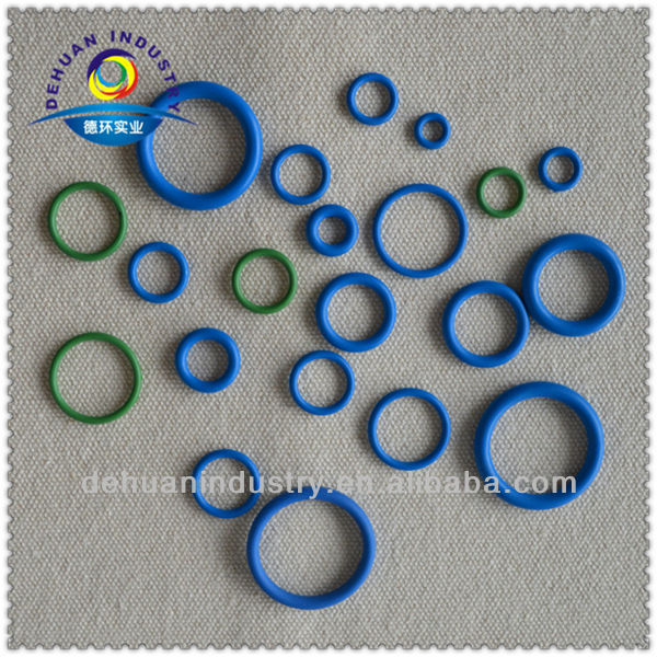 Colorful rubber o rings