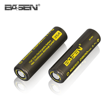 High discharge Basen 18650 2800mah 3.7v wheelchair lithium ion battery 80A 12V