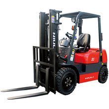 Professional four wheel drive forklifts