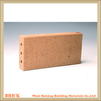 Red clay landscaping brick for outside paving