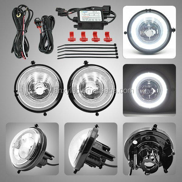 Led daytime running light drl daylight kit day driving lamp for Mini R55 R56 R57