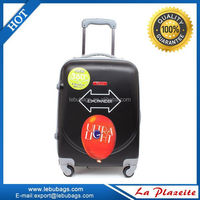 Light weight personalized trolley luggage sets, sky travel luggage set