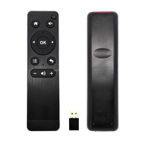 High quality 2.4G wireless mini fly mouse smart remote control 2.4g mini fly air gyro mouse wireless remote control for IPTV box