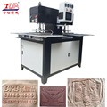 China two heads heating embossing machine