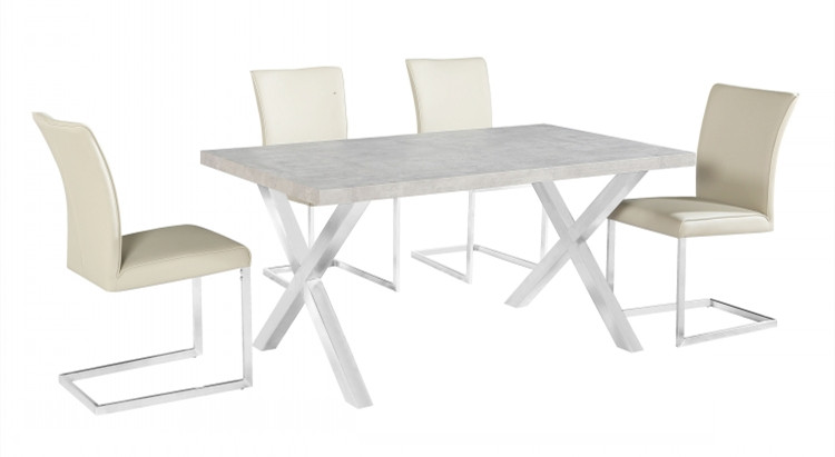 New design high quality outdoor tempered extendable glass dining table