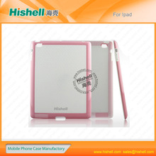 tpu+pc lighter shockproof protective case for ipad2/3/4