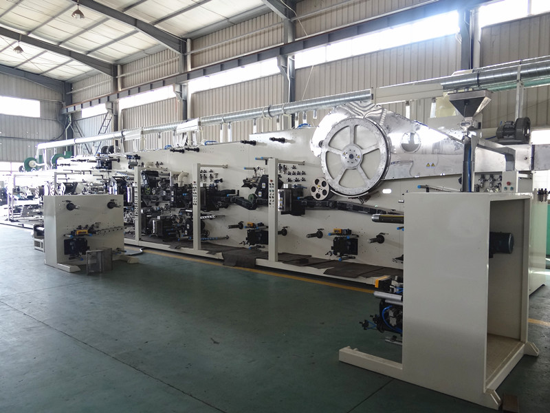 Women automatic sanitary napkin production line