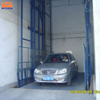 four post outdoor used hydraulic car lift for sale
