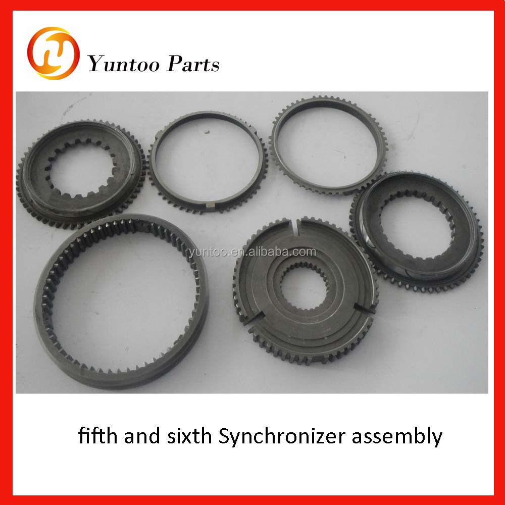 Qijiang Gearbox Assembly Transmission 1708-00295 fifth and sixth Synchronizer assembly