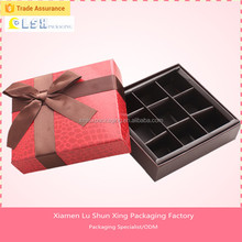 Popular Gold supplier Custom Sweet Chocolate BoxFood packaging chocolate packing truffle boxes,luxury chocolate boxes packaging