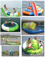 Water sports recreation Inflatable roller / trampoline / Seesaw / Gyro / boat / water volleyball / slides