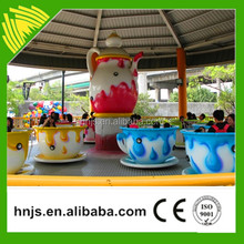 Kids Carnival Rides Amusement Cup Rides Rotating Tea Cup Rides For Sale