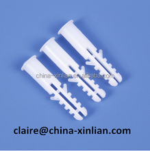 Nylon anchor for nail screw Plastic wall plug