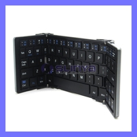 Folding Mini Ultra-thin WirelessBluetooth Keyboard For Smartphone Tablet PC Compatible with iOS Android Window System