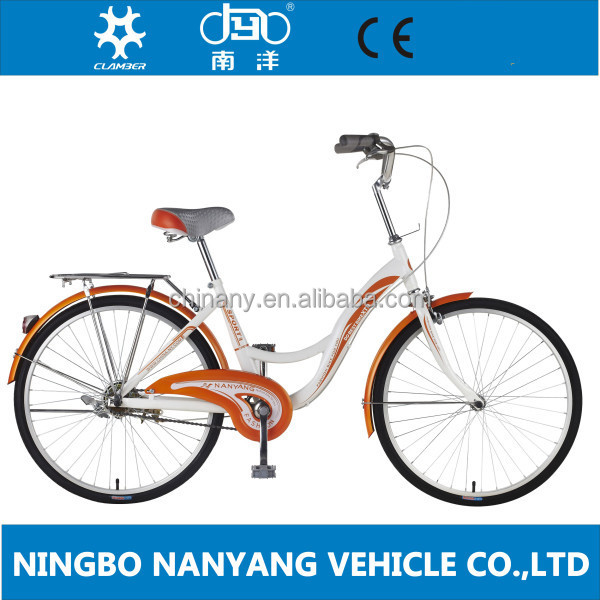 2015 new arrivel 24 inch retro city cycles for woman