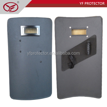 Ballistic steel bullet proof shield Anti riot shield