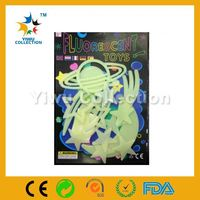 love tree wall sticker,pp synthetic label,fluorescent glow in night sticker