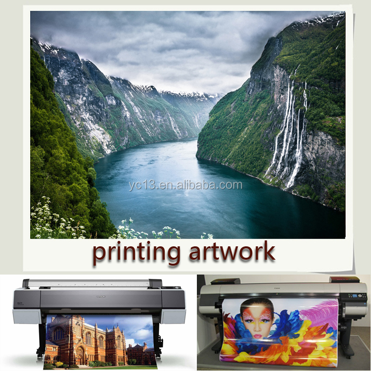 Print Canvas painting custom provide photograph