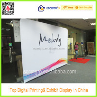 Wholesale trade show round hanging banner,Pop up banner stand