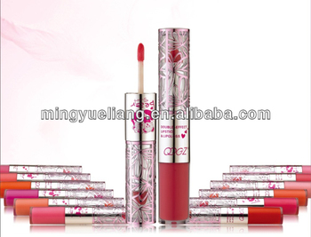 QQGZ-675 Double Ended Colorful Rich Lip Gloss and Lip Sticks