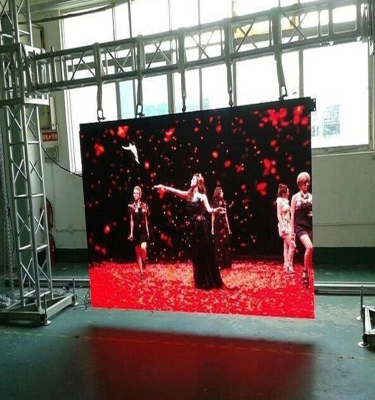 High Definition Indoor Full-Color P4 16Scan LED Display Screen