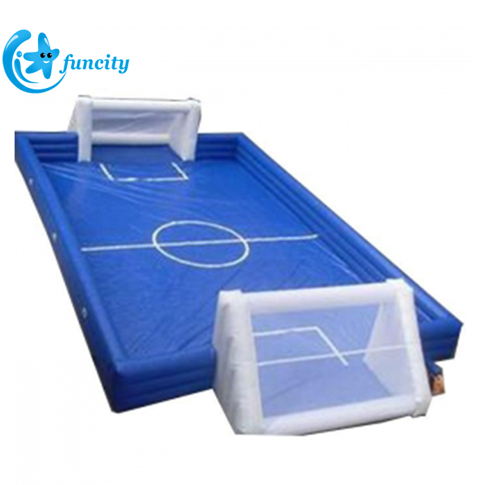 Customized PVC Inflatable Soccer Field,Inflatable Football Court