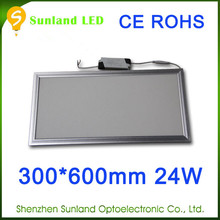 Fast shipping SMD3014 warm white 24W sandwich panel second hand