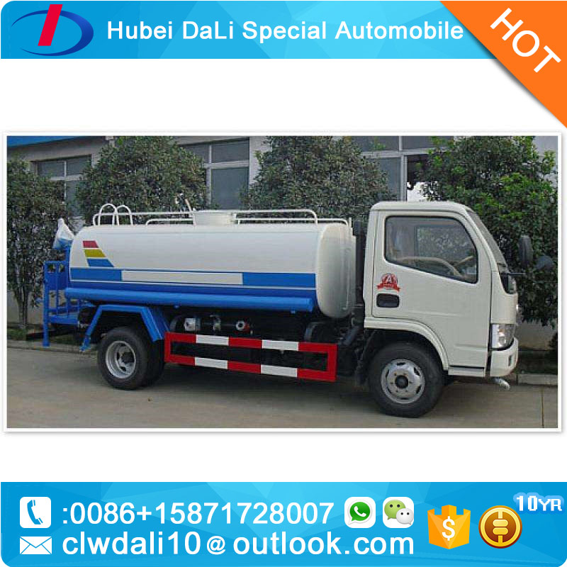 dongfeng 4*2 environmental sanitation trucks watering and spraying water tanker truck