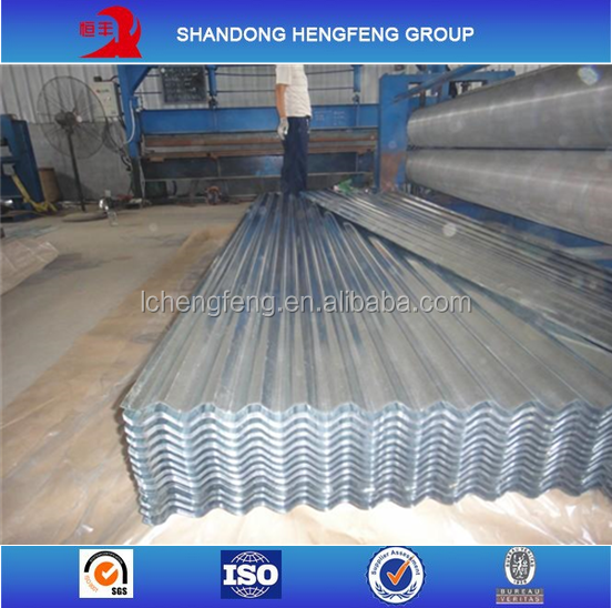 Gi Galvanized Corrugated Steel Sheet For Roof