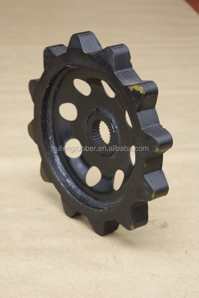Hagglunds BV 206 iron road sprockets rubber track hagglunds crawler carrier vehicles bv206 accessory