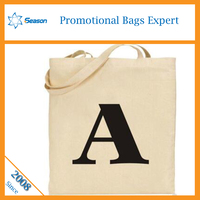 Fashion recyclable tote bag cotton