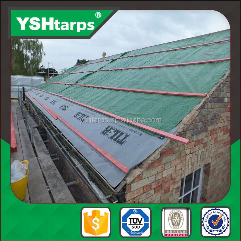 Construction Material Plastic Clear Tarp In Roll