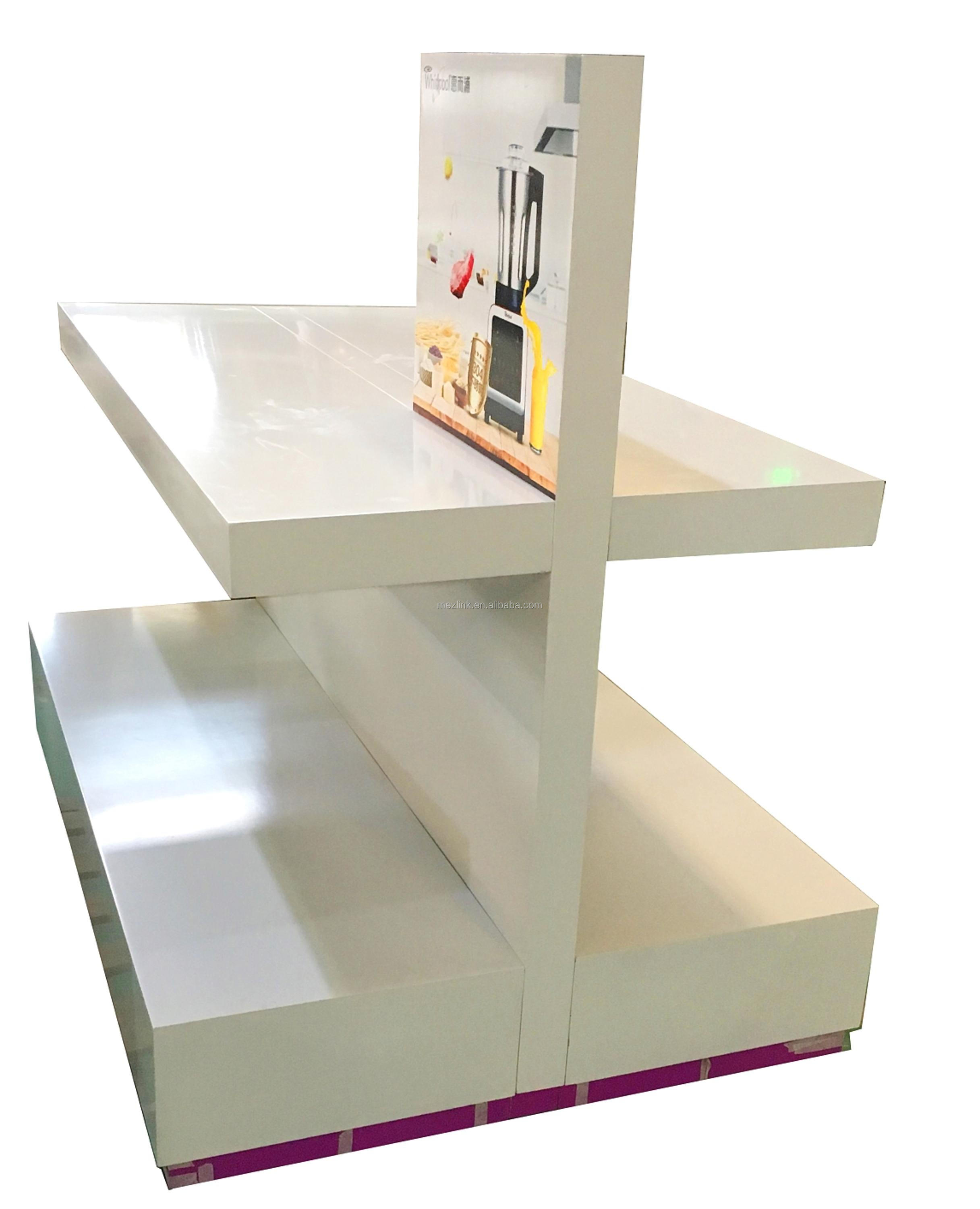Hot sale display furniture for household appliances/exhibition product display/company showroom and franchised store,cheap price