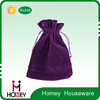 Homey factory price durable utility fashion Promotional good quality microfiber pouch with drawstring