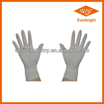 Latex Gloves Medical Operation Hospital Best Sale in 2016