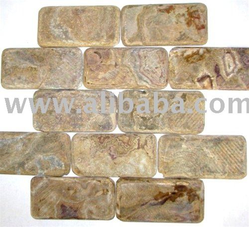 MULTI BROWN ONYX TUMBLED SUBWAY TILE KITCHEN BACKSPLASH BATHROOM MARBLE STONE TRAVERTINE GRANITE GLASS SHOWER WALL TRIM FLOORING
