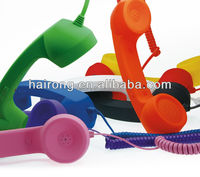 Hairong smart phone audio line retro phone handset good for pregnant woman