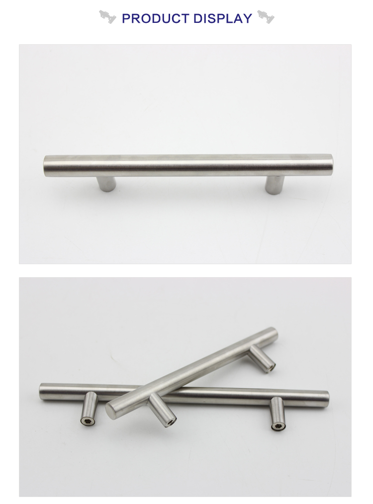 furniture accessories best quality wardrobe stainless steel door handle, door pull handle