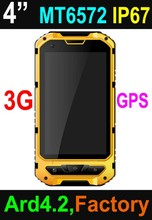 4 inch dual-core Android 4.2 rugged smart phone , industrial mobile phone A8 with GPS+3G
