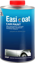 Fast Thinner applied to basecoat and topcoat for automotive coating