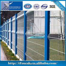 Alibaba Trade Assurance Blue Wire Mesh Fencing ( welding method ISO 9001)