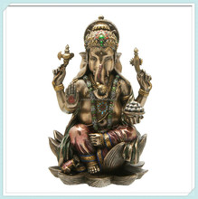 Hindu elephant god of success resin ganesh idols