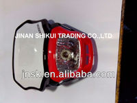 motorcycle head light assembly and plastic parts