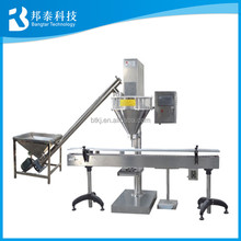 Full automatic packing line milk powder dosing and filling machine
