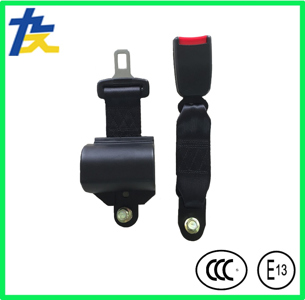 Automatic retractable two points safety belt for cars and buses with CCC, E-Mark cetifications