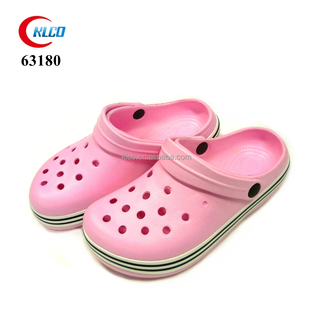 cheap wholesale holey garden sandal kids eva clog shoes