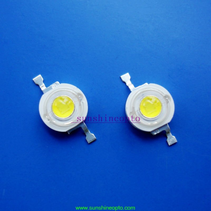 1W High Power led high power led chips 120lm factory